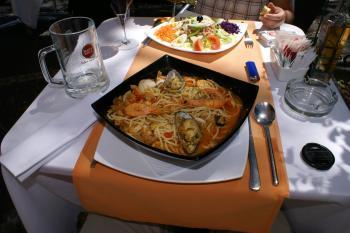 Spaghetti a la Madeira